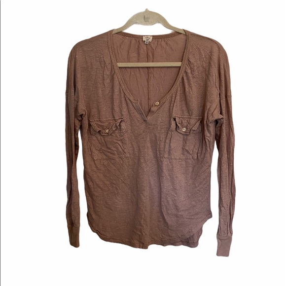 Wilfred 3/4 sleeve top size M